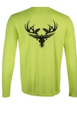 Youth- Chartreuse Long Sleeve Dri-Fit