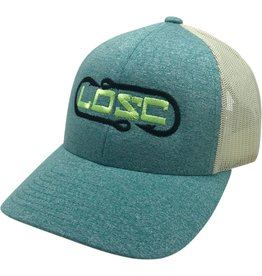 Richardson Hook'D Snapbacks- Double Hook Heather Green