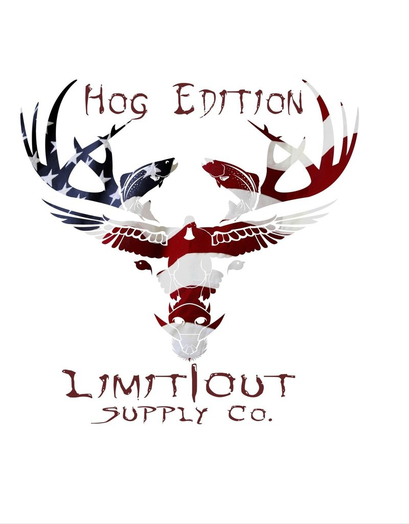 Limit Out Supply Co. Logo Decals- Hog Edition