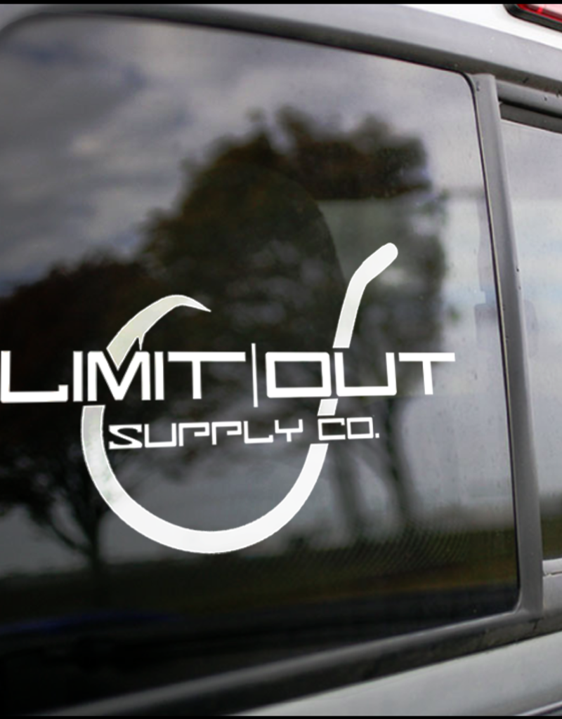 Limit Out Supply Co. Hook Logo Decal