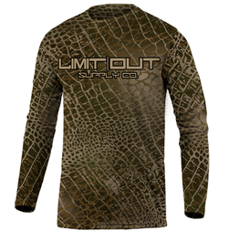 Limit Out Supply Co. Swampskin- Duck Camo Dri Fit