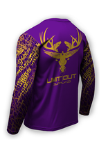 Limit Out Supply Co. Swampskin- Purple & Gold