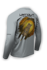 "Limit Out Supply Co. ""Bow'D Up""- Bowfishing Dri Fit"