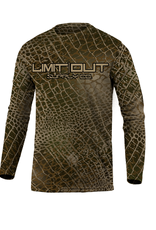 Limit Out Supply Co. Kids-Swampskin-Duck Camo