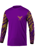 Limit Out Supply Co. Kids-Swampskin-Purple & Gold