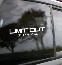 Limit Out Supply Co. Name Decals- Original