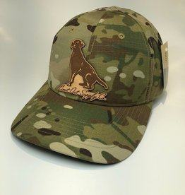 Richardson Leather Labrador Hat / Multicam