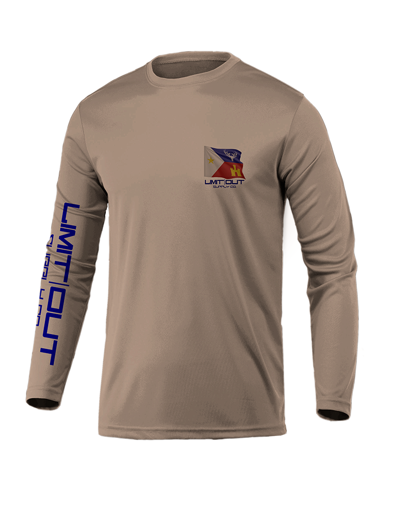 Limit Out Supply Co. Acadiana Long Sleeve Dri-Fit