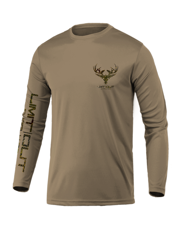 Limit Out Supply Co. Tan & Swampskin Camo Dri Fit