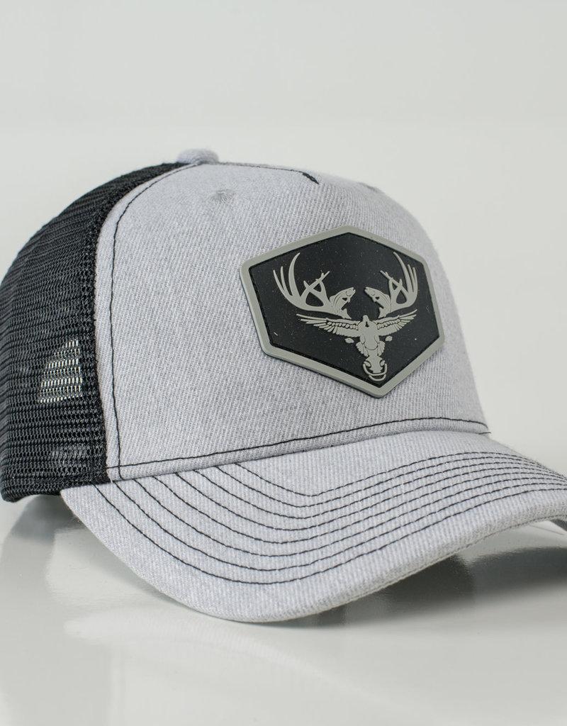 Limit Out Supply Co. PVC Deerhead Logo Series Snapback