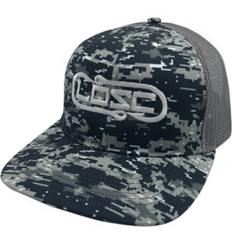 Richardson Hook'D Snapbacks- Double Hook Digital Camo Black