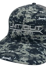 Richardson Digital Camo Snapback- Black