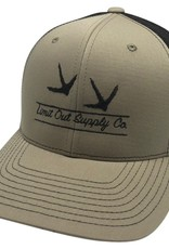 Richardson Turkey Snapbacks Khaki/ Coffee