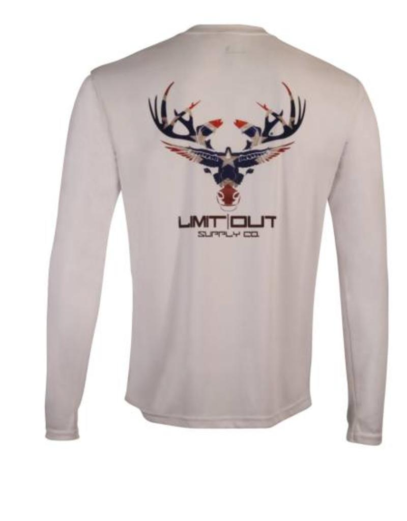 Limit Out Supply Co. Dixie Edition Long Sleeve Dri-Fit