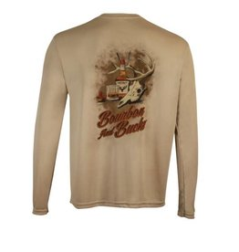 Bourbon & Buck Long Sleeve Dri-Fit