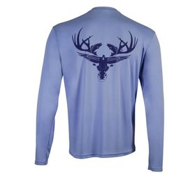 Columbia Blue Long Sleeve Dri-Fit