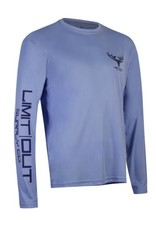 Limit Out Supply Co. Columbia Blue Long Sleeve Dri-Fit