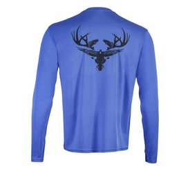 Navy Blue Long Sleeve Dri-Fit