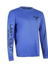 Navy Blue Long Sleeve Dri-Fit