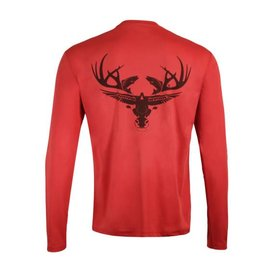 Limit Out Supply Co. Red Long Sleeve Dri-Fit