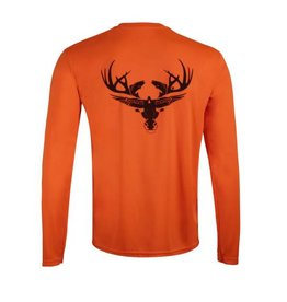 Limit Out Supply Co. Neon Orange Long Sleeve Dri-Fit