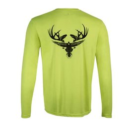 Chartreuse Long Sleeve Dri-Fit