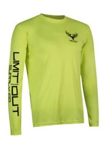 Limit Out Supply Co. Chartreuse Long Sleeve Dri-Fit