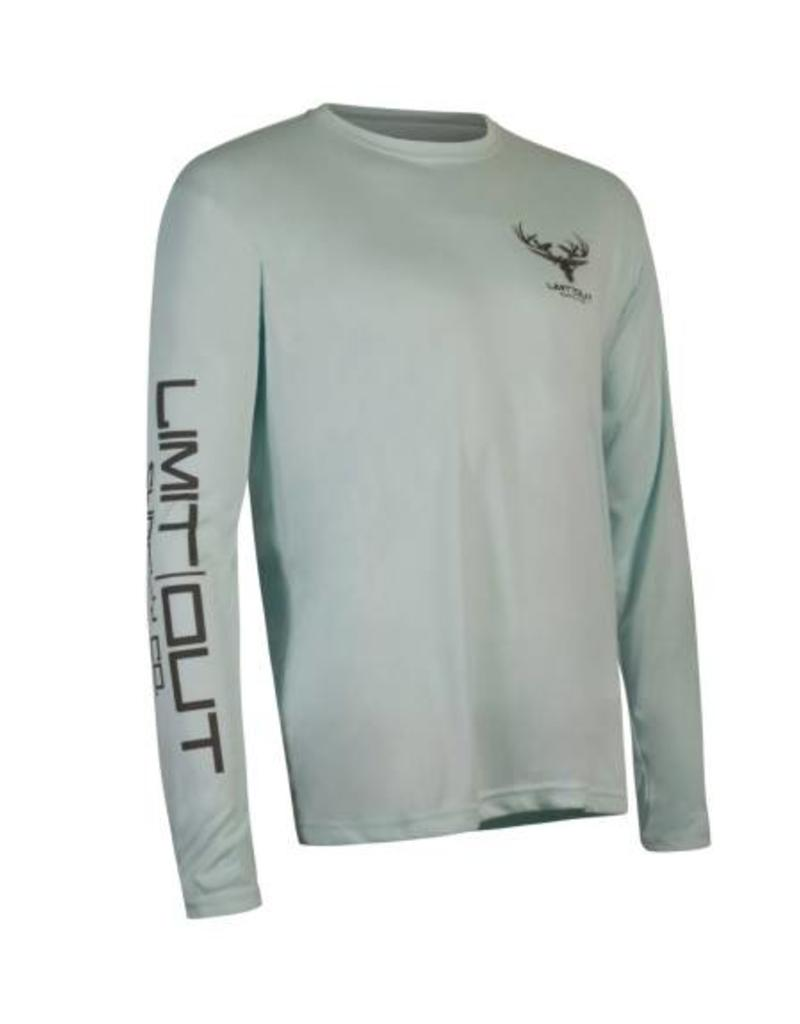 Limit Out Supply Co. Seafoam Long Sleeve Dri-Fit