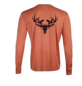 Salmon Long Sleeve Dri-Fit