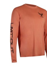 Limit Out Supply Co. Salmon Long Sleeve Dri-Fit