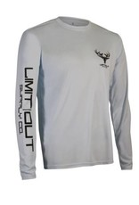 Limit Out Supply Co. Arctic Blue Long Sleeve Dri-Fit