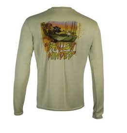 Limit Out Supply Co. Shallow Minded Long Sleeve Dri-Fit