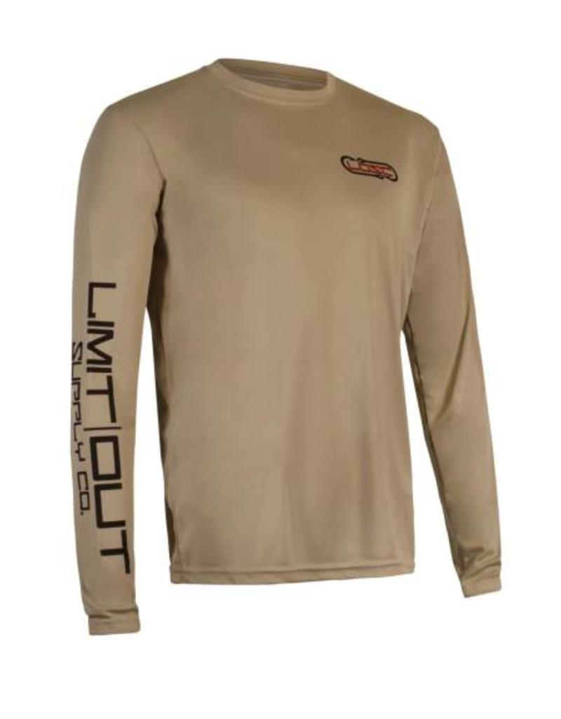 Limit Out Supply Co. Hooked - Bass Long Sleeve Dri-Fit