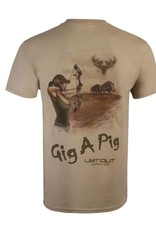 "Limit Out Supply Co. ""Gig A Pig"" Cotton T"