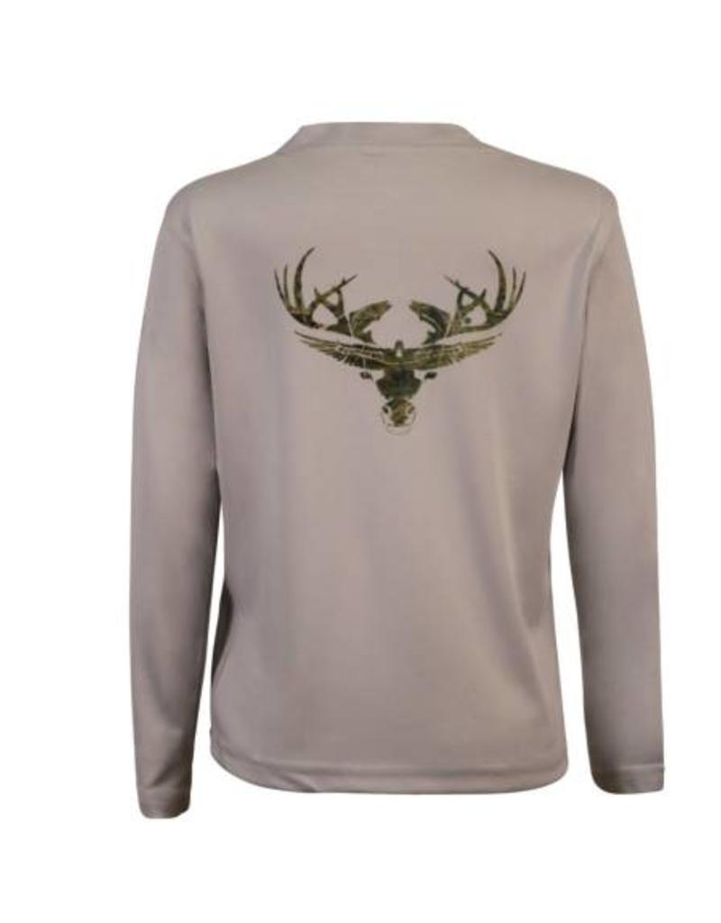 Youth- Camo Long Sleeve Dri-Fit