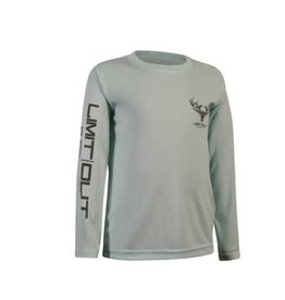 Youth- Seafoam Long Sleeve Dri-Fit