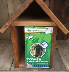 Crown Bees Tower Bee House