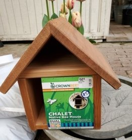Crown Bees Chalet Bee House