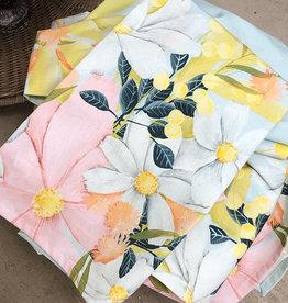 "Greenbox Flower Market Tea Towel 21 x 28"""
