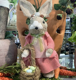Two's Company Hand-crafted Easter Bunny, Girl Small