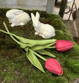 Creative Co-Op Ceramic Bunny, White