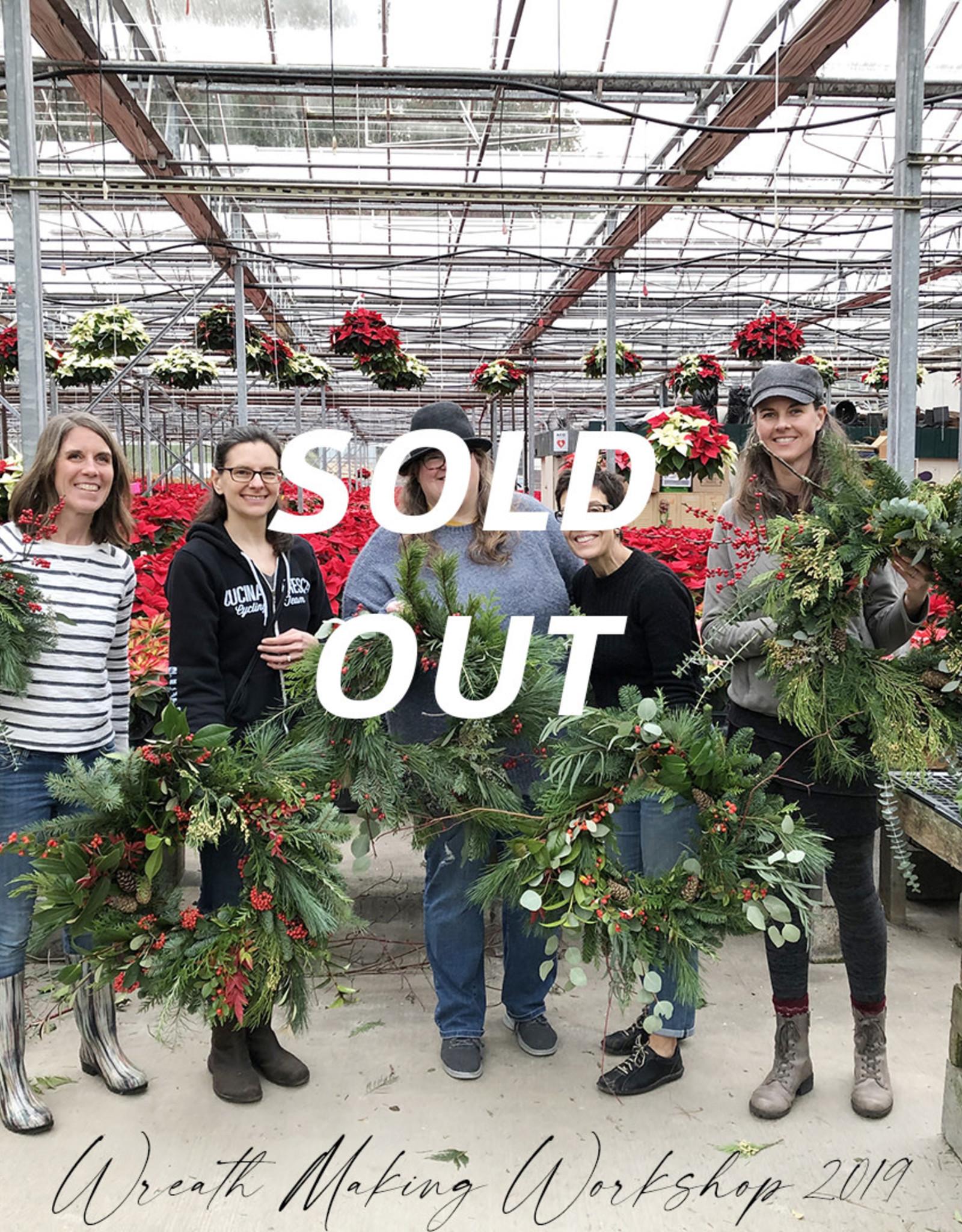 Squak Mtn Wreath Making Workshop (5 people), 11/11/20 2:30pm