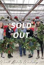 Squak Mtn Wreath Making Workshop (5 people), 11/19/20 10:00am
