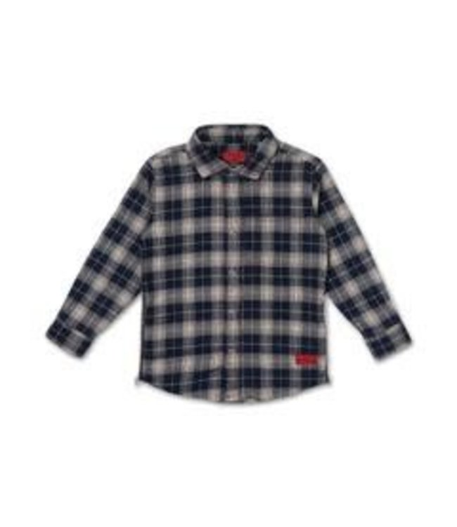 HAUS OF JR HAUS OF JR Edgar Zip Flannel