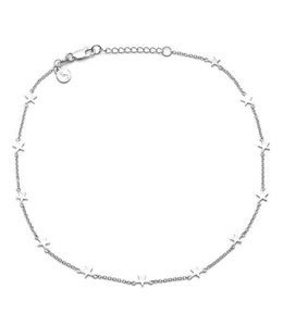 Stolen Girlfriends Club Stolen Girlfriends Club Stolen Star Choker- Sterling Silver