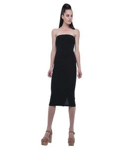 Norma Kamali Norma Kamali Strapless Dress To Knee