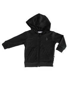 North Kinder North Kinder Knit Hoodie - Marled Black