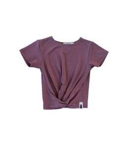 North Kinder North Kinder Knotted Tee - Mauve