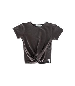 North Kinder North Kinder Knotted Tee - Ash Black