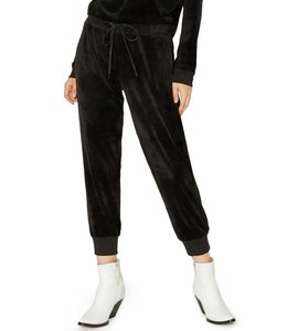 Sanctuary Sanctuary Velour Track Jogger-Black